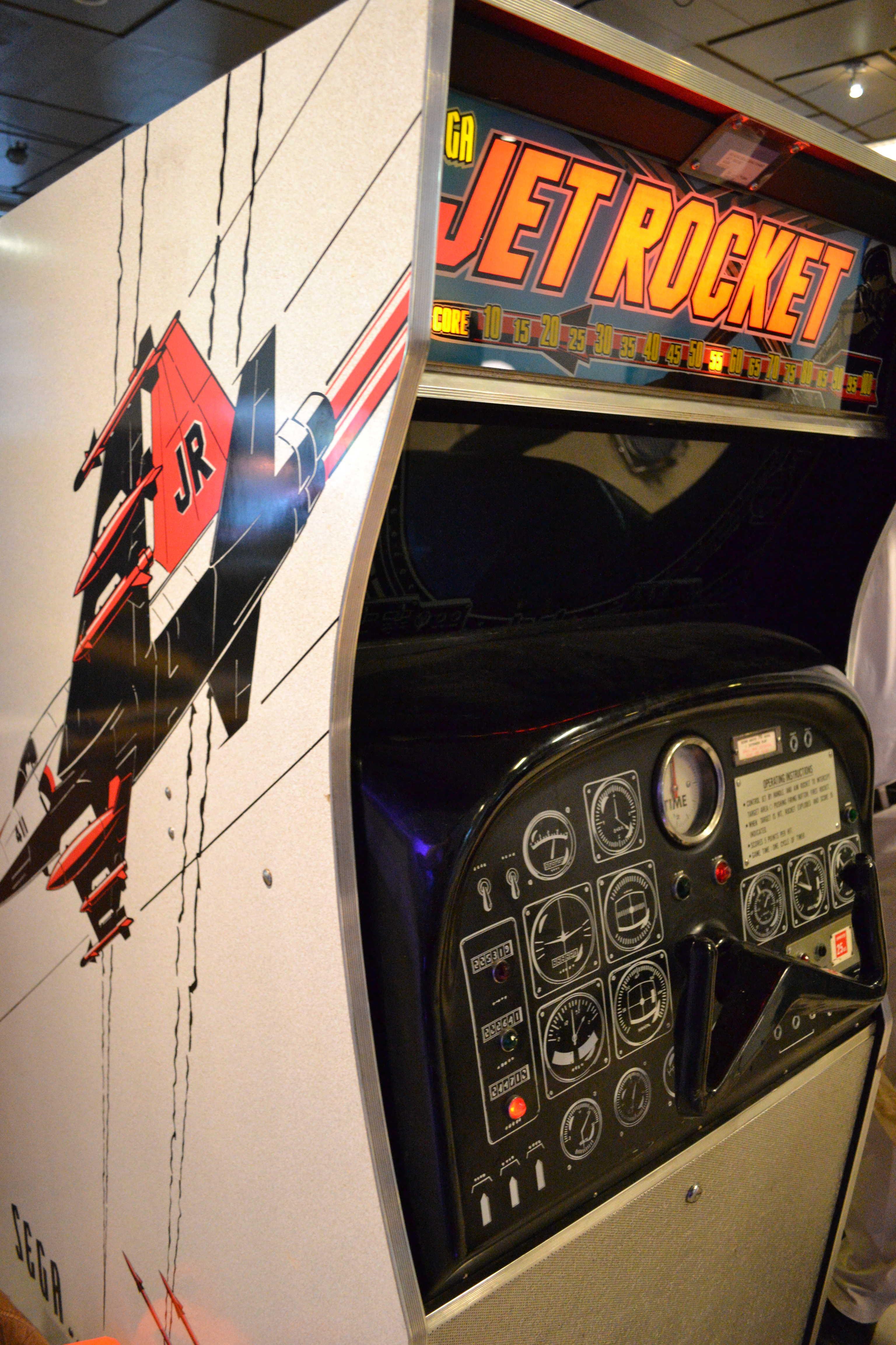jet rocket  sega  1970