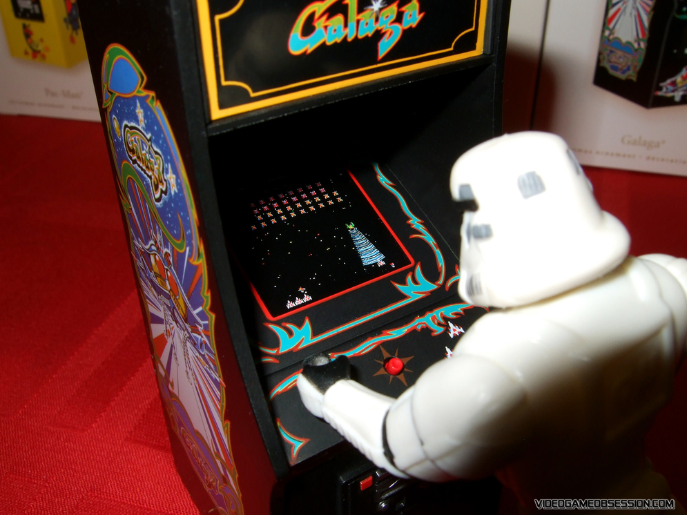 Galaga Arcade Model Mediamatic