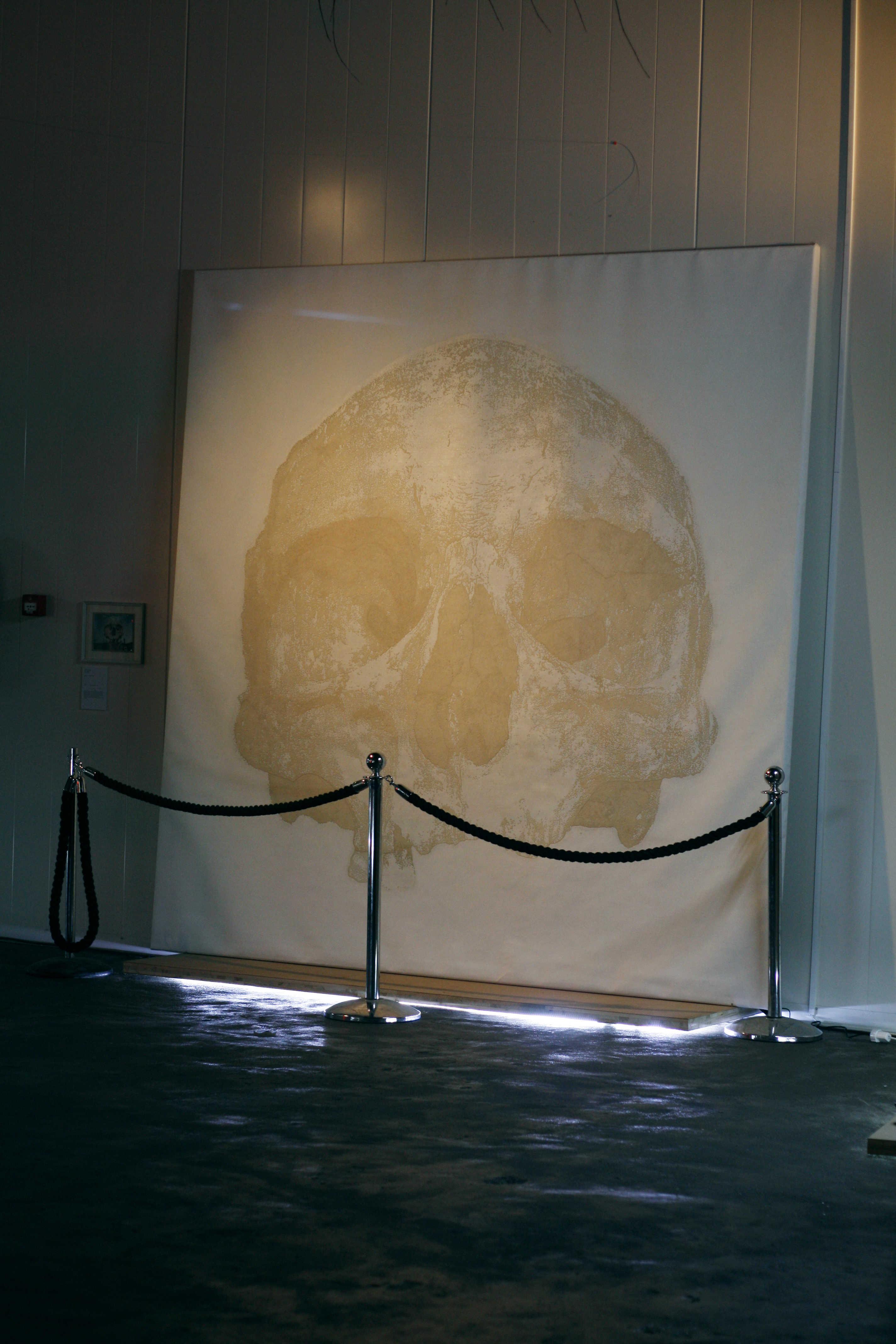 12a5be87c9 Faceless exhibition overview - work by Heiko Bressnik Bodil Schermerhorn