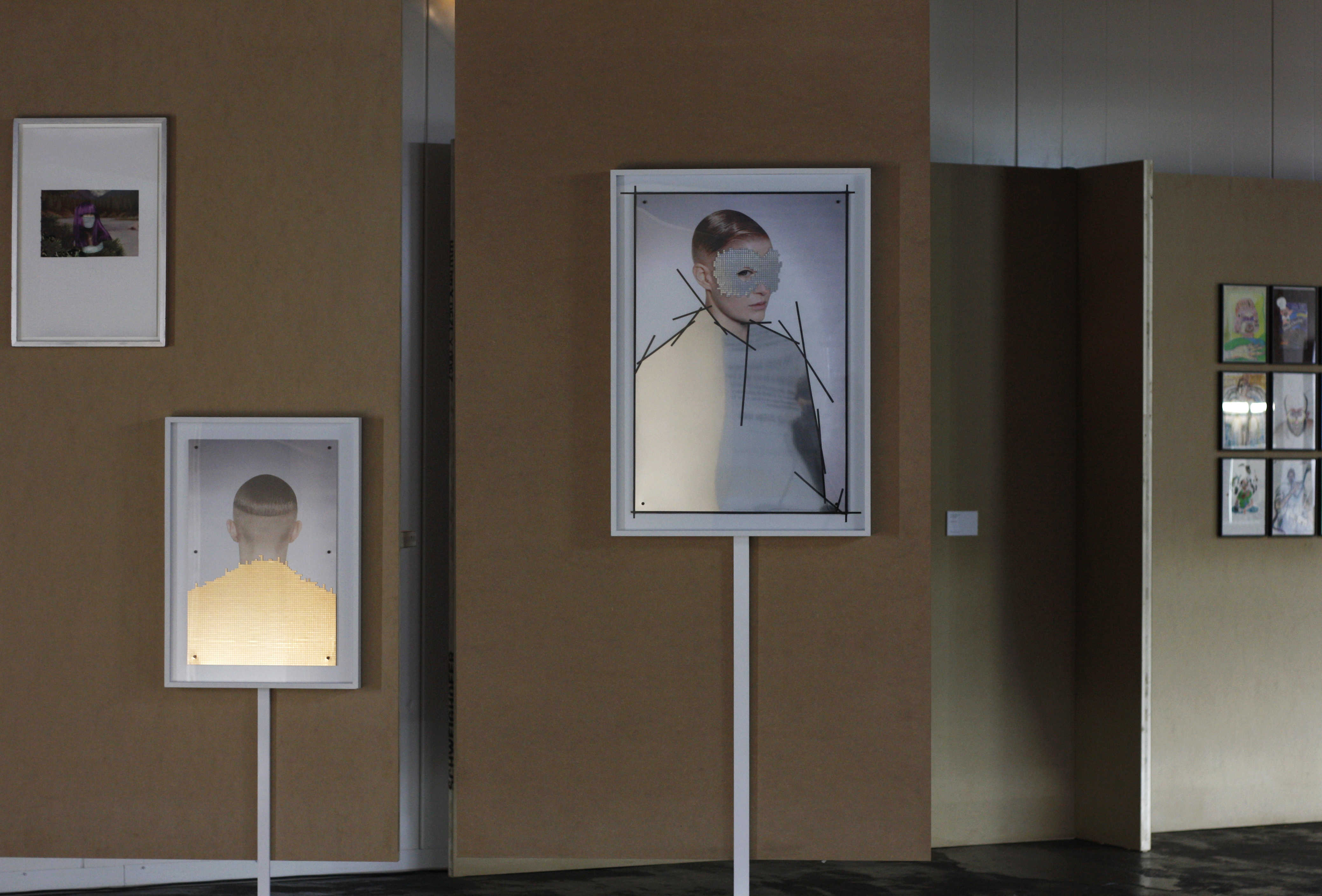 bd5ad3662e Faceless exhibition overview - work by Marc Turlan