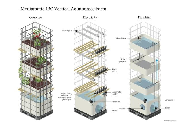 Aquaponics Farm Mediamatic