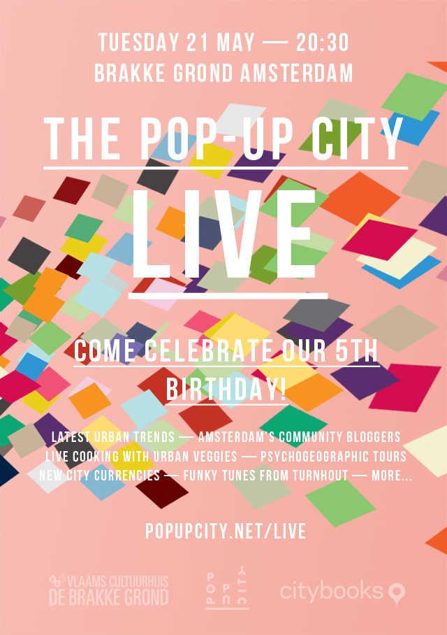 The Pop-Up City Live - Mediamatic