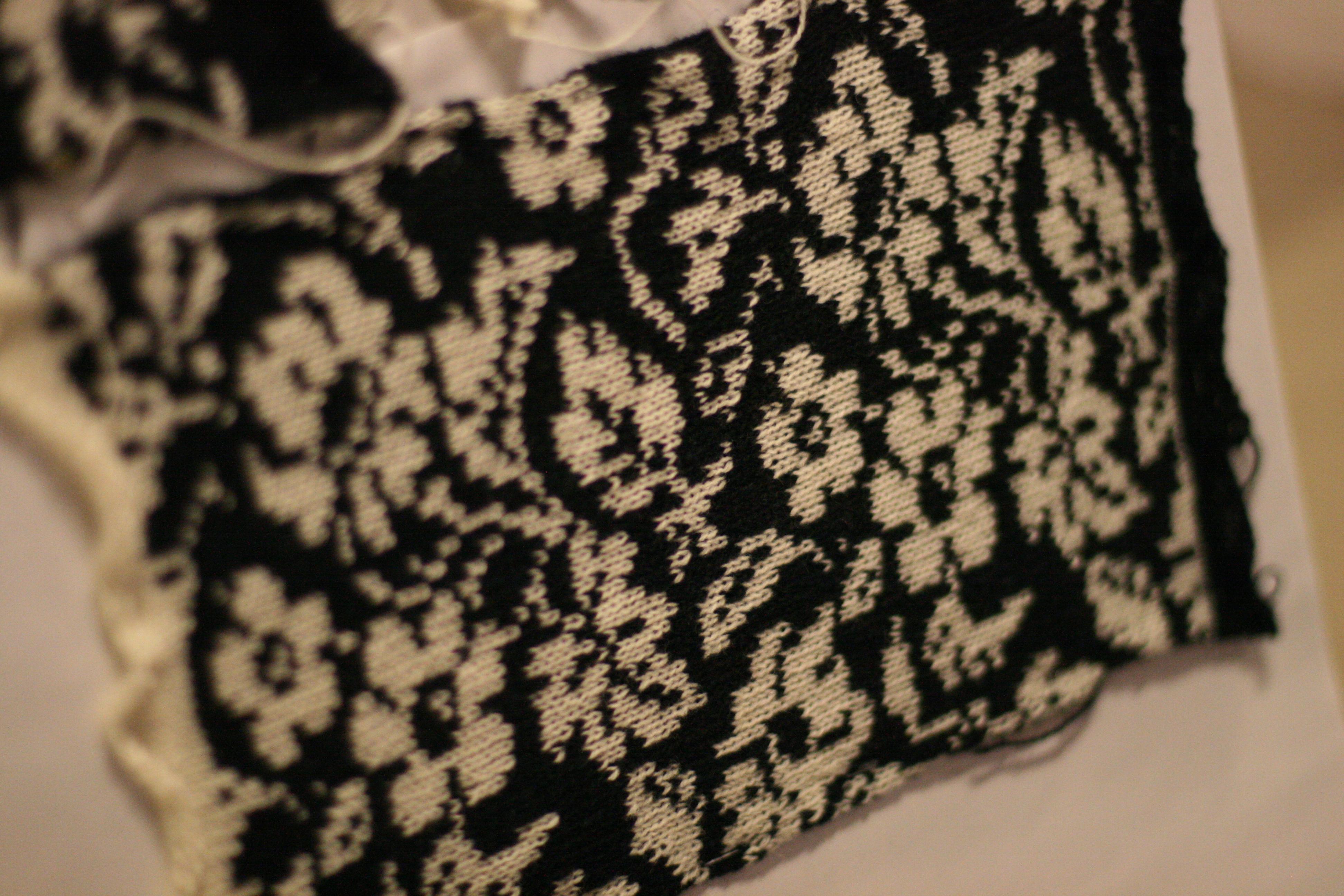 flower knit pattern - Mediamatic